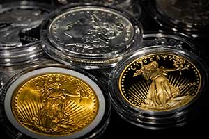 We buy gold, silver, platinum and other numismatic coins
