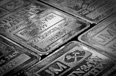 Silver Bars and bullion